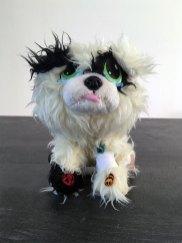 peluche chien à soigner