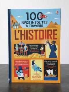 100 infos insolites à travers l'histoire
