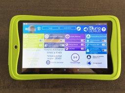 tablette contrôle parental