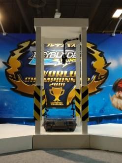 arène beyblade burst championnat du monde 2018