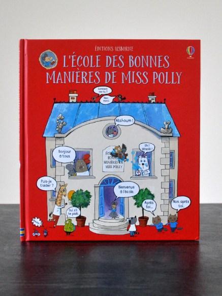 L'école des bonnes manières de Miss Polly Editions Usborne