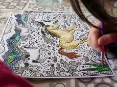 peinture magique édition Usborne