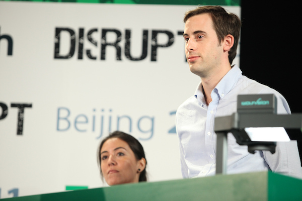 Joop Presenting at Techcrunch Disrupt