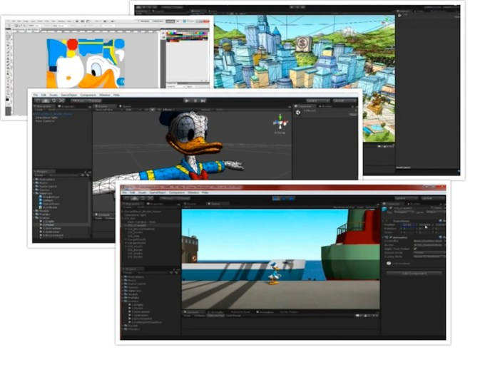 Unity editor, from image mapping to object in a 3d world