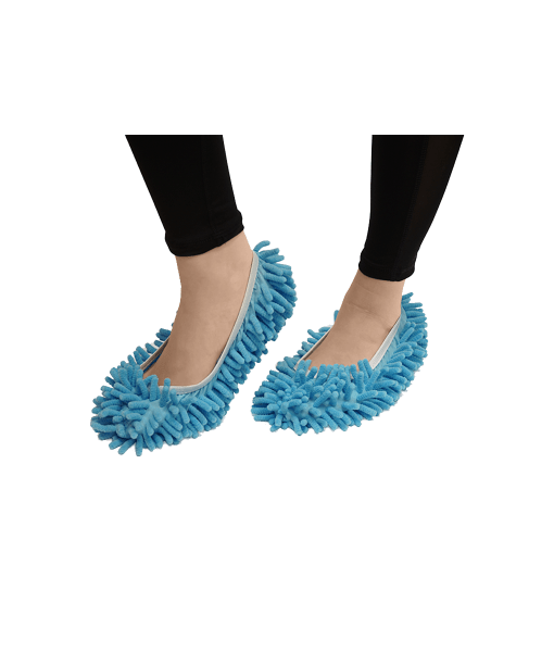 cleaning-shoes-blue