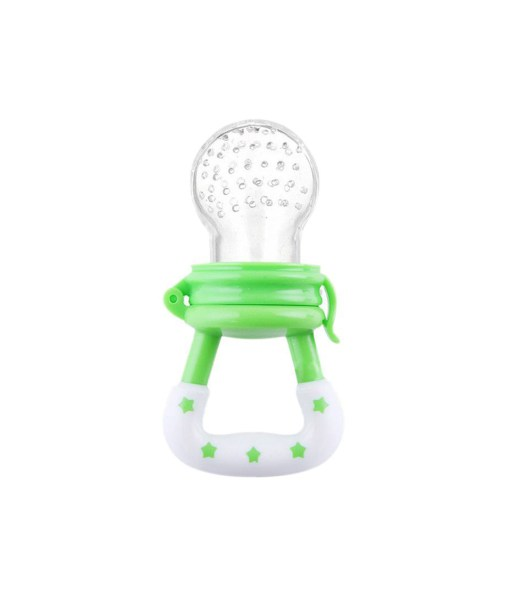 Silcone-Baby-Pacifier-Fresh-Food-Feeder-Dummy-Fruits-Nibbler-Soother-Feeding-Nipple-Bottle-Clip-Chain