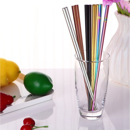 1Pair-Stainless-Steel-Tableware-Colorful-Length-23cm-Chopsticks-Dinner-Party-Tableware-Funny-Drop-Shipping-0223