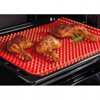 Non-Stick-Heat-Resistant-Raised-Pyramid-Shaped-Silicone-Baking-Roasting-Mats-16-Inches-X-11-5-401×400