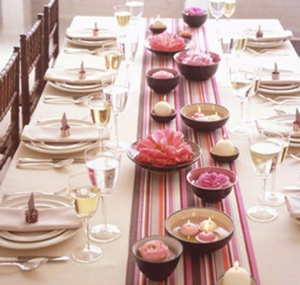 Centros de mesa casamiento