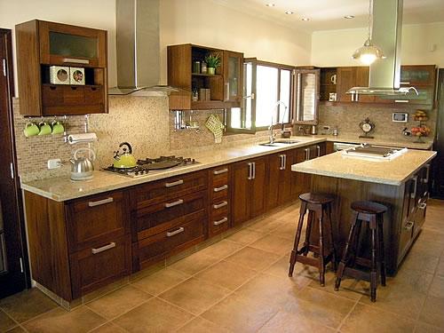 Ejemplos de cocinas integrales