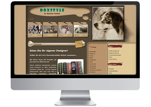 Foto Website Doxstyle