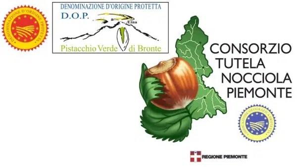 Pistacchio Verde di Bronte DOP e Nocciola Piemonte IGP