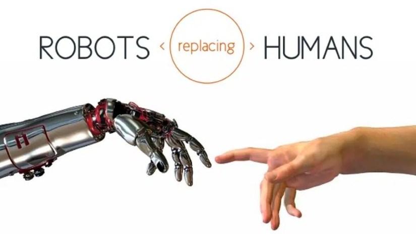 Il robot sostituisce l'uomo