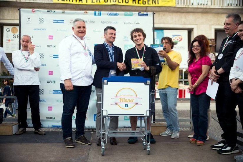 Il vincitore del Festival del Gelato Artigianale di Pesaro 2018