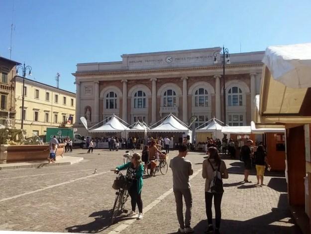Il Festival del Gelato Artigianale di Pesaro 2018 in piazza del Popolo