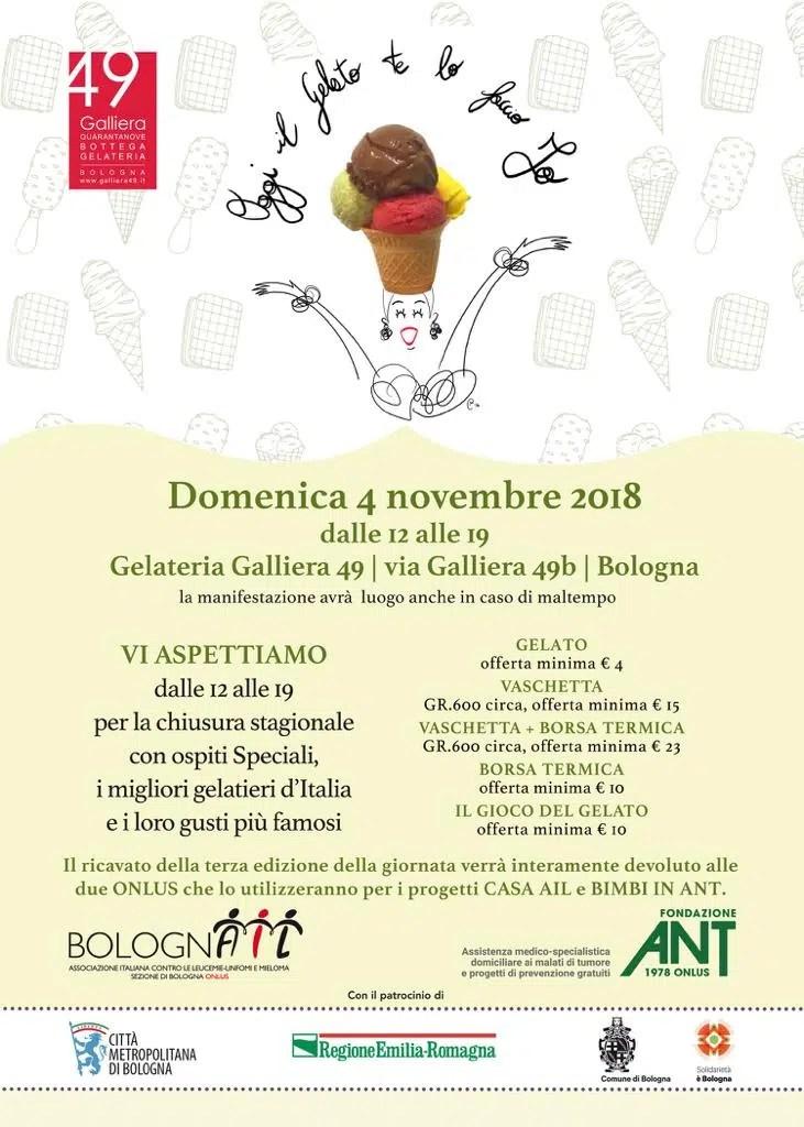 Oggi il gelato lo faccio io Galliera 49 Bologna