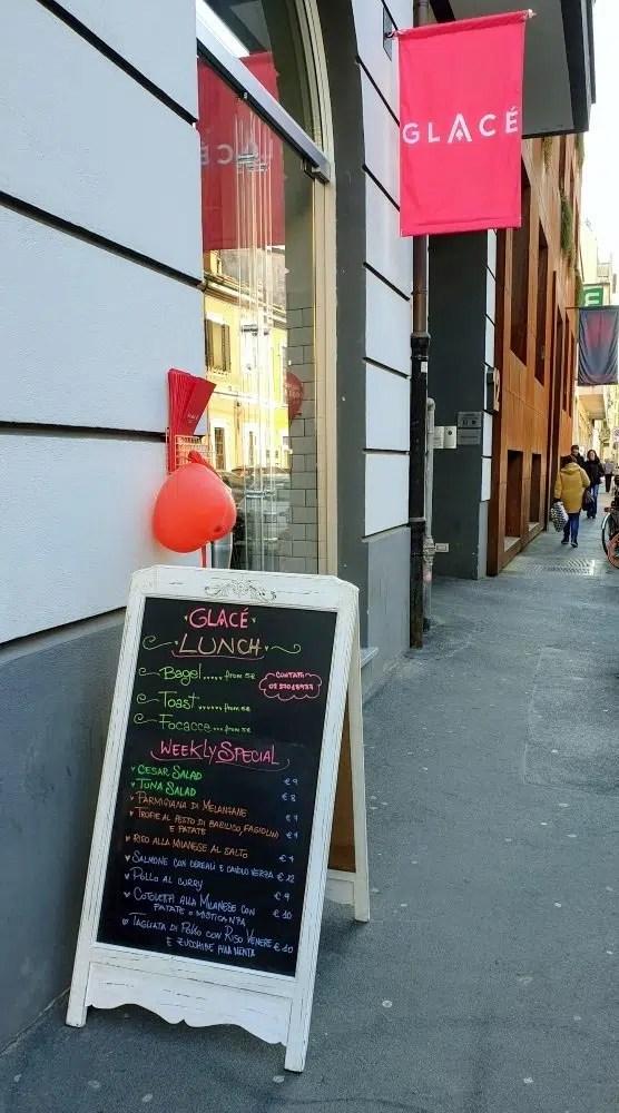 Gelateria Glacè a Milano