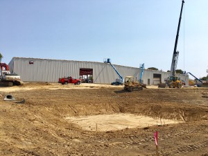 Check out the Construction Progress at Jor-Mac!