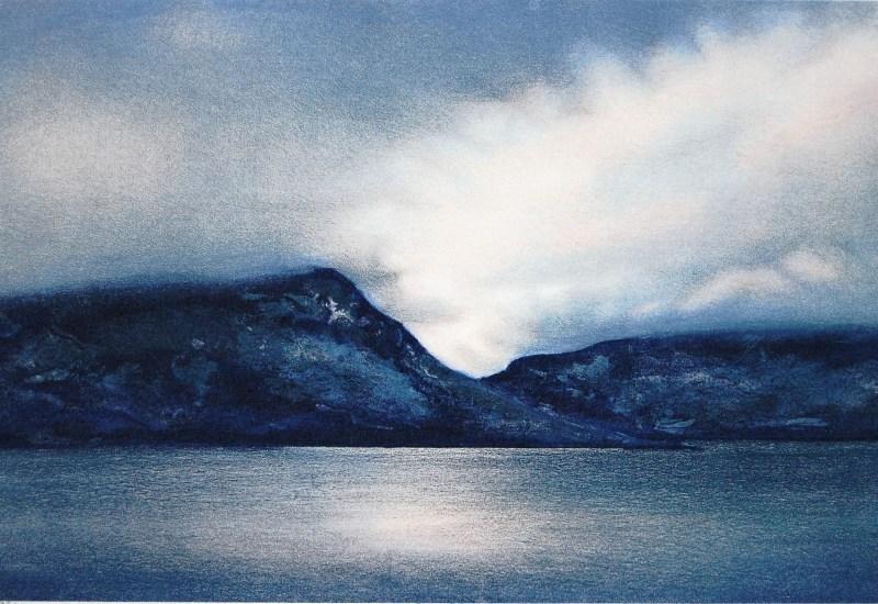 Jøran Flo litografi – Motlys