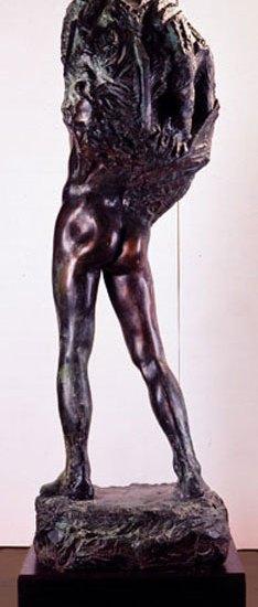 Jøran Flo_Adonis_skulptur_bakfra