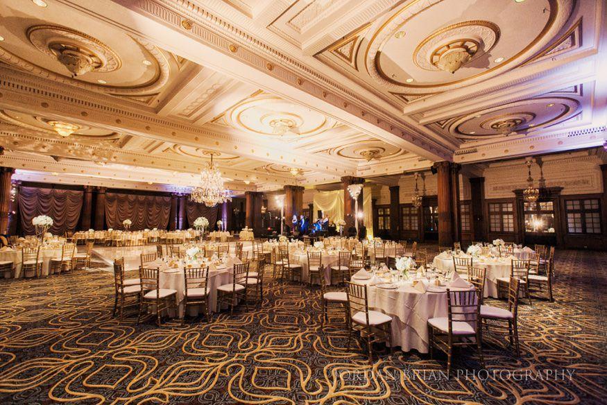 Crystal Tea Room wedding of Justine  Chris in Philadelphia