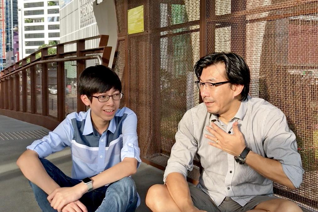 至激STEM Sir栽培幼苗 以國創科土壤移植香港 - Jordan Fung