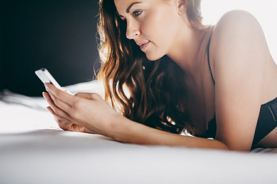 cell phone can improve your relationship, boost testosterone