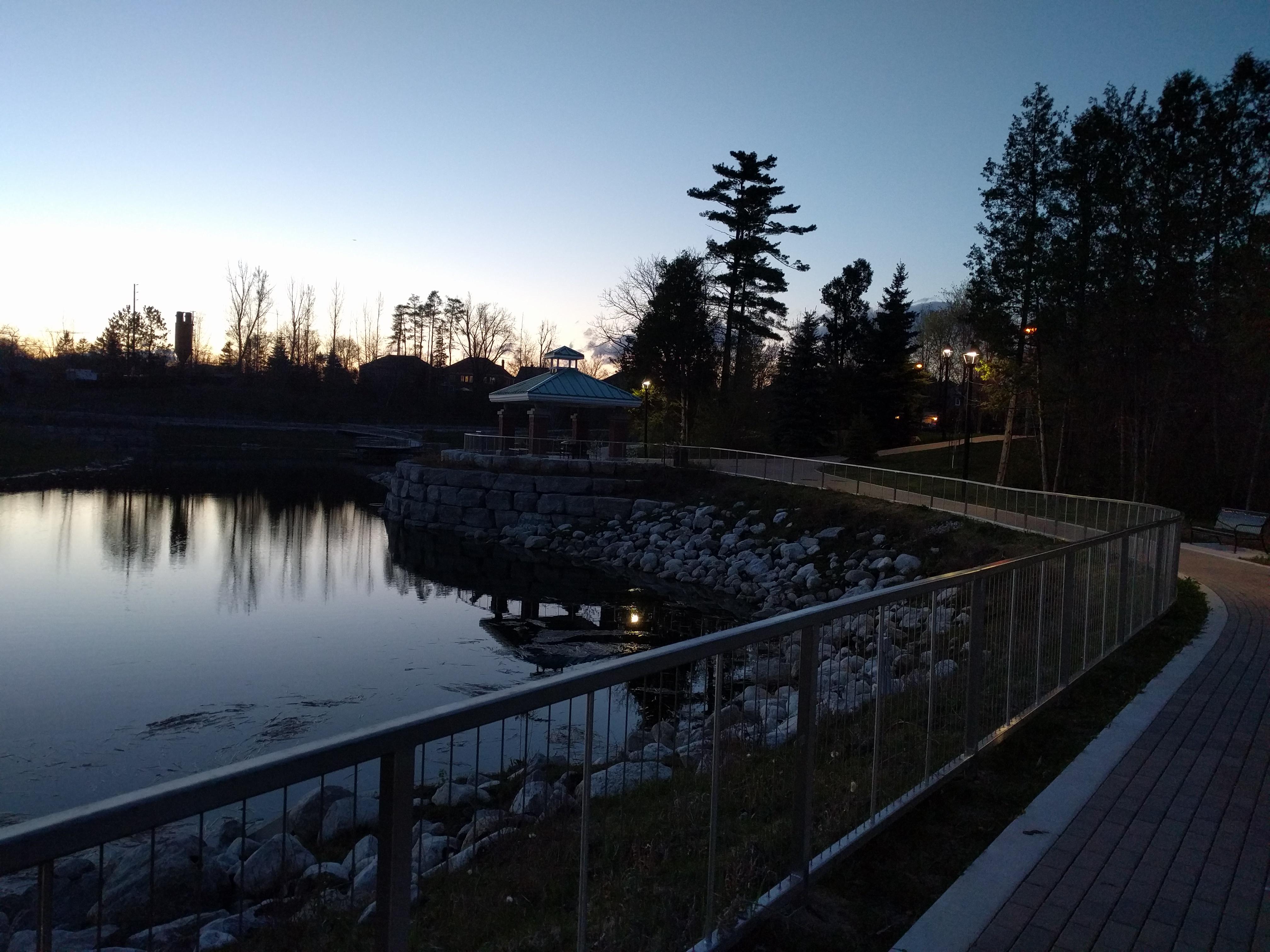 Jordan Lampert's other pond