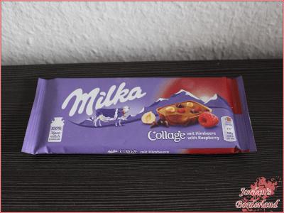 "Milka Collage ""Himbeere"""