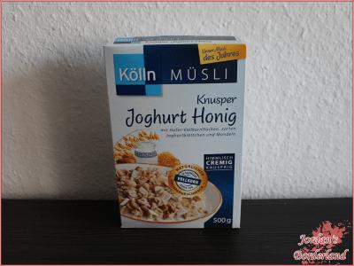 Kölln Müsli Knusper Joghurt Honig
