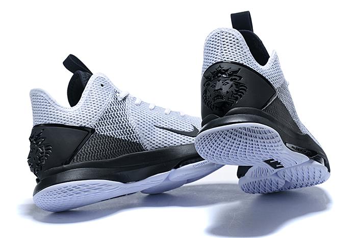 2020 New Nike LeBron Witness 4 IV EP White/Black For Sale