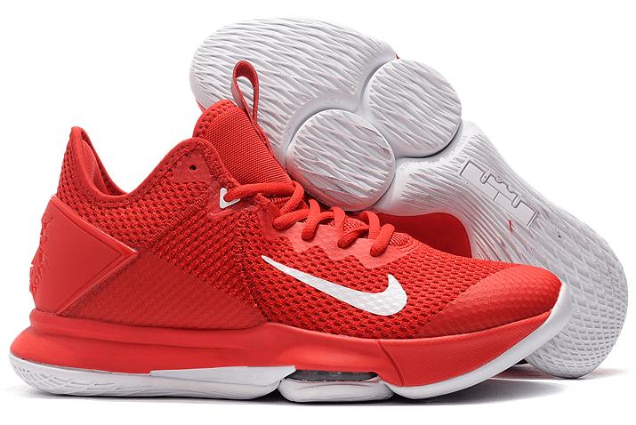 2020 Nike LeBron Witness 4 University Red/White