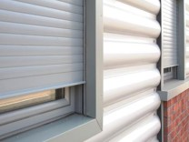 Aluminium Shutters category page & drop down pic