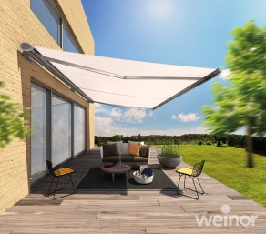 Weinor Folding Arm Awnings category and drop down pic