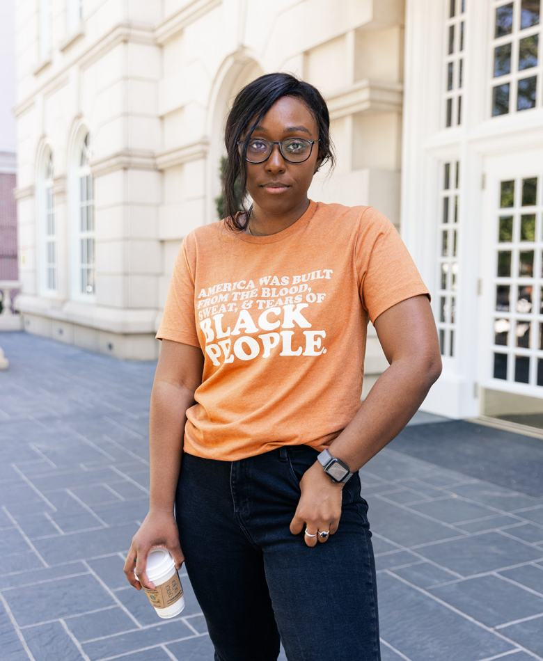 Jordan Taylor C - Standing Up for My Values With Black Owned Clothing, black owned social justice t-shirts, black owned t-shirts, black owned t shirt company, activist clothing line, black empowerment shirts, social justice t-shirts black owned, social justice shirts black owned, social awareness t-shirts, social t-shirts, black owned social justice clothing, t-shirts for justice, social justice clothing companies