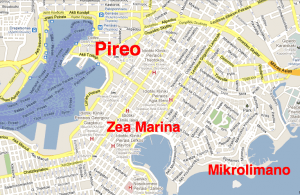 Athens port