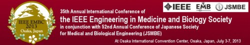 Header of the EMBC13 conference
