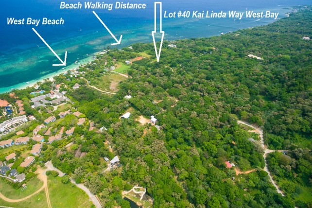 land for sale in West Bay Roatan