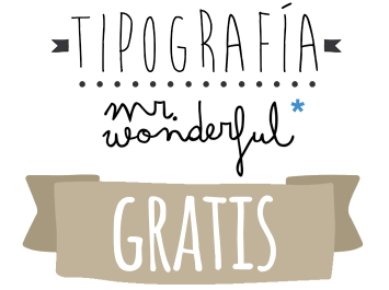 Tipografia Mr Wonderful Gratis Para Tus Propios Diseños Jorge