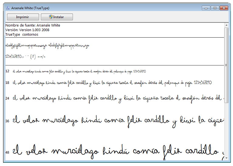 tipografia mr wonderful