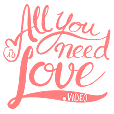 logos de videografos profesionales all you need is love