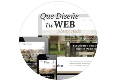 Que Diseñe tu Web y Blog de Fotógrafo