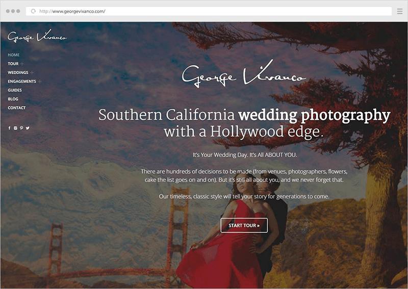 planifica tu web de fotografía