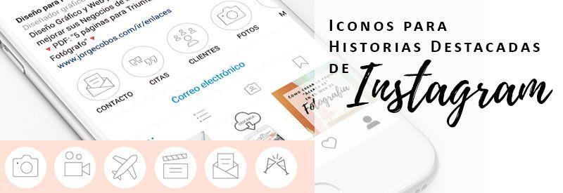 iconos para historias destacadas instagram