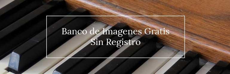 Banco de Imágenes Sin Registro