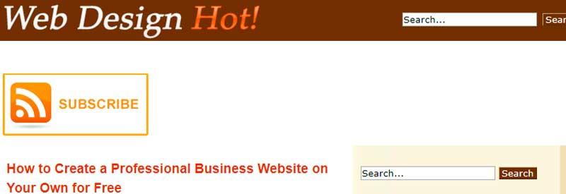 vectores gratis web design hot