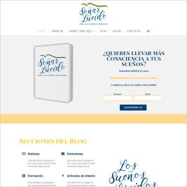 Soñarlucido cliente diseño de páginas web