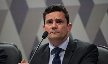 Moro depõe  na  PF e relaciona Eduardo  Bolsonaro ao gabinete do ódio