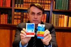 Cloroquina recomendada por Bolsonaro causa distúrbios psiquiátricos