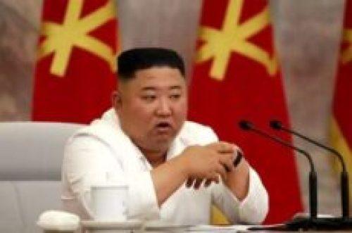 Kim Jong Un comemora o fim da Covid 19 na Correia do Norte